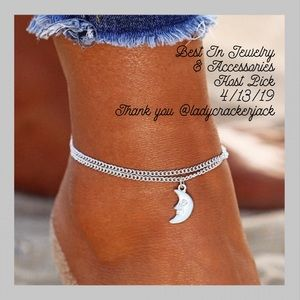 Jewelry - ❗️NEW ARRIVAL❗️Anklet Charm and Chain